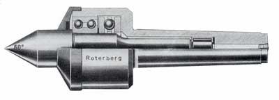 Drehbankspitzen von Roterberg | Werkzeugbau & Maschinenbau seit 1917